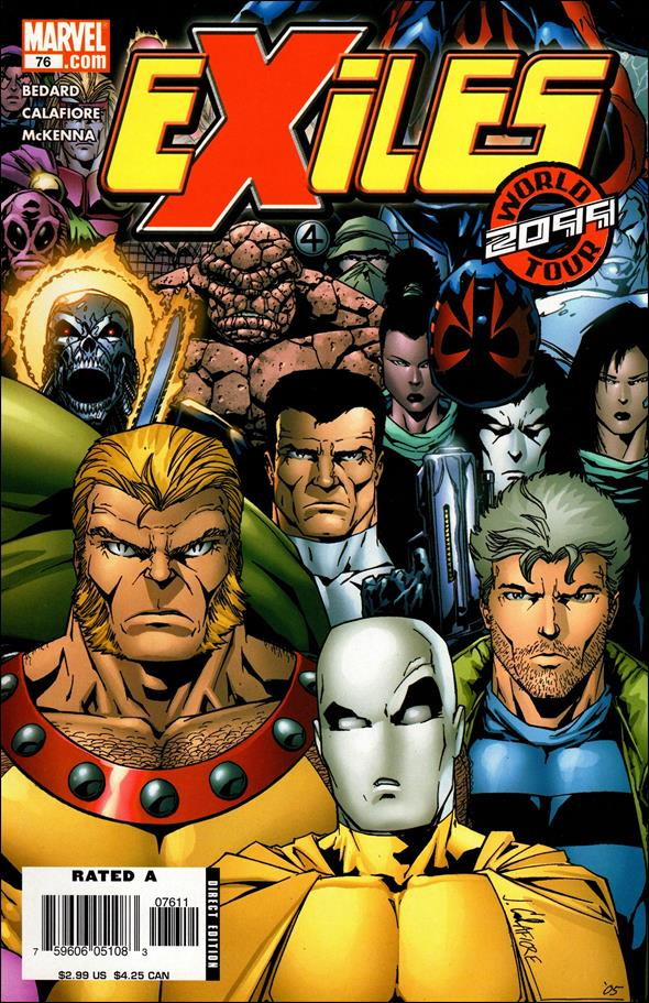 Exiles (2001) 76-A by Marvel