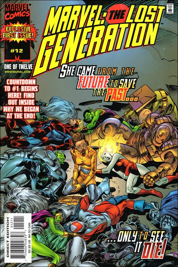Marvel: The Lost Generation 12-A by Marvel