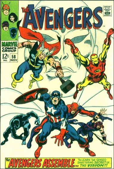 Avengers (1963) 58-A by Marvel