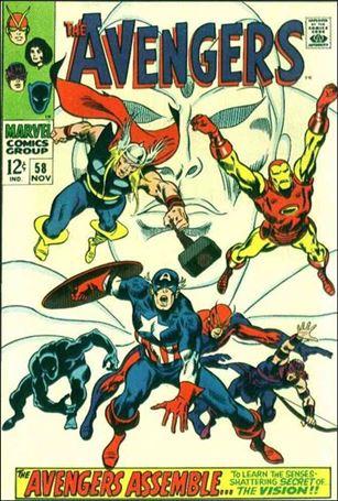 Avengers (1963) 58-A