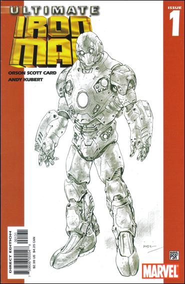Ultimate Iron Man 1-C by Marvel