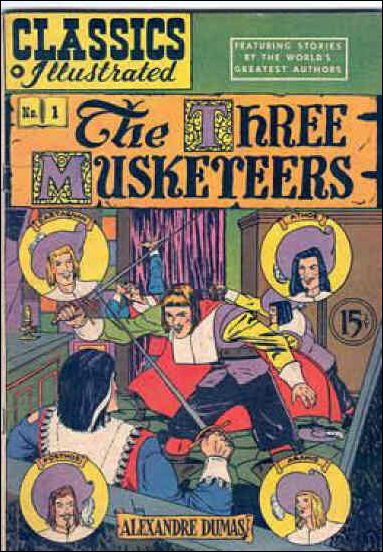 Classic Comics/Classics Illustrated 1-J by Gilberton