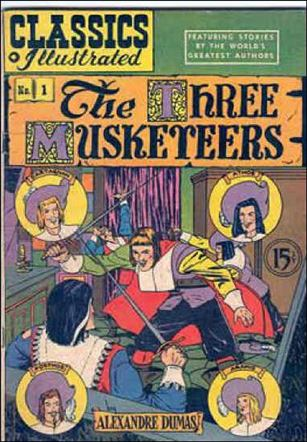 Classic Comics/Classics Illustrated 1-J