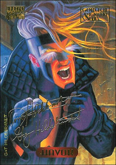 1994 Marvel Masterpieces (Gold-Foil Signature Parallel Base Set) 48-A by Fleer