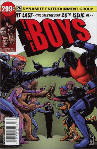 Boys 26-A by Dynamite Entertainment