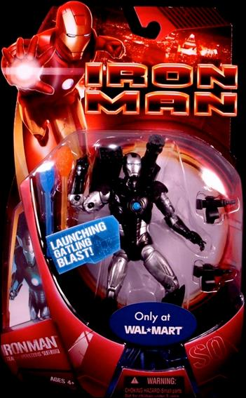 Iron Man (Movie) Iron Man (Stealth Operations Suit) by Hasbro
