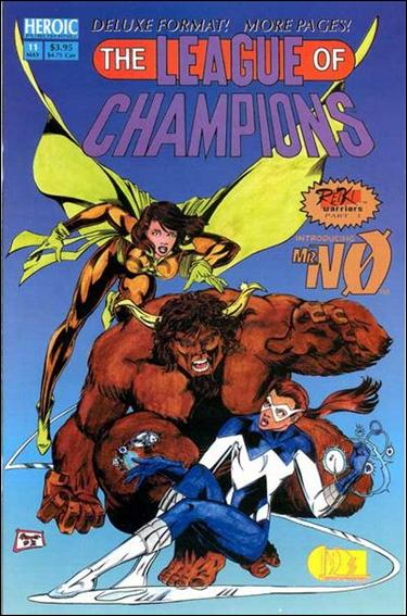 League of Champions 11-B by Heroic Publishing
