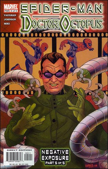 Spider-Man/Doctor Octopus: Negative Exposure  5-A by Marvel
