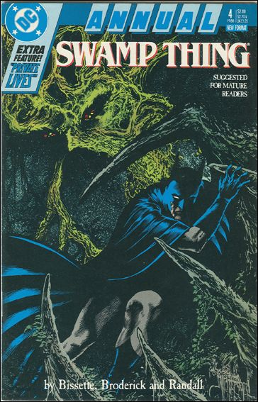 Swamp Thing Annual (1982) 4-A by DC