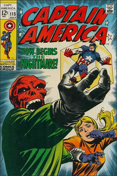 Captain America (1968) 115-A by Marvel