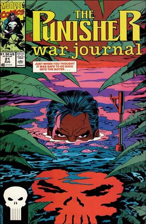 Punisher War Journal (1988) 21-A