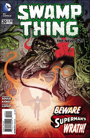 Swamp Thing (2011) 20-A by DC