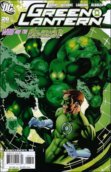 Green Lantern (2005) 26-A by DC
