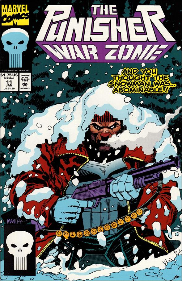 Punisher: War Zone (1992) 11-A by Marvel