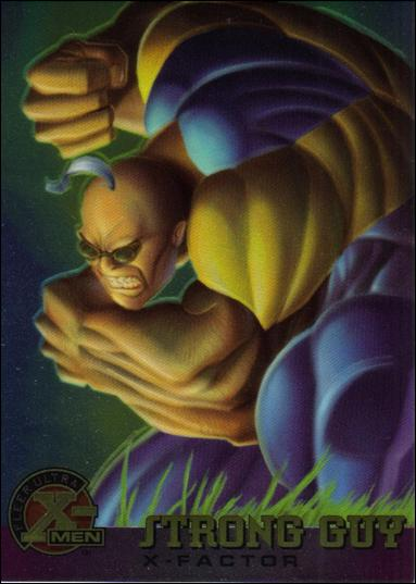 1995 Fleer Ultra X-Men All Chromium (Base Set) 19-A by Fleer