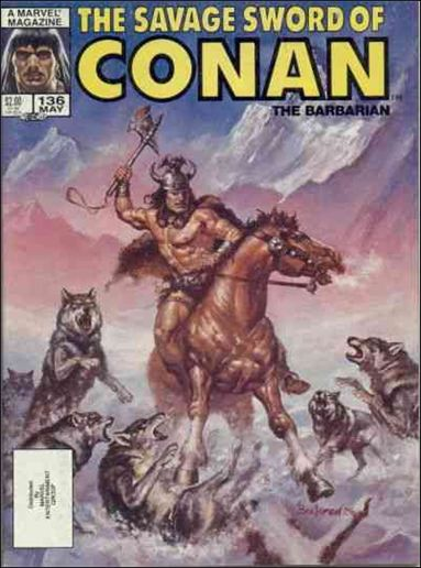 Savage Sword of Conan (1974) 136-A by Marvel