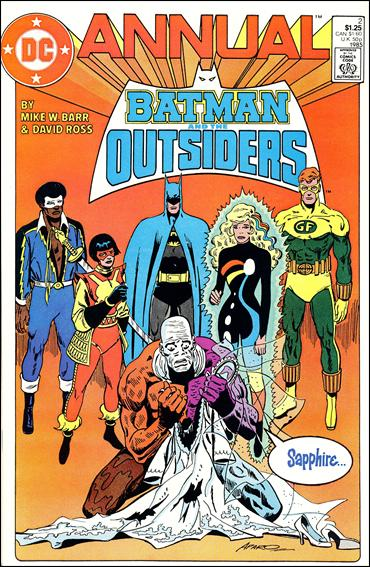 Batman and the Outsiders Annual 2-A by DC