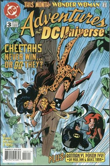 Adventures in the DC Universe 3-A by DC