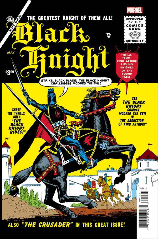 Black Knight (1955) 1-B by Atlas