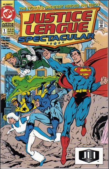 Justice League Spectacular 1-A by DC
