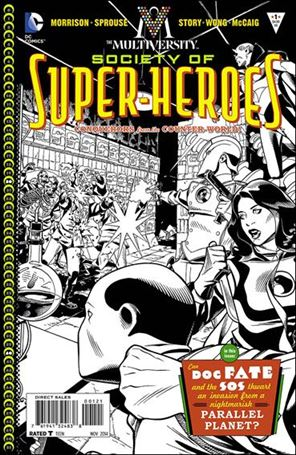 Multiversity: The Society of Super-Heroes: Conquerors of the Counter-World 1-B