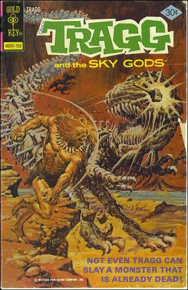 Tragg and the Sky Gods 8-A by Gold Key