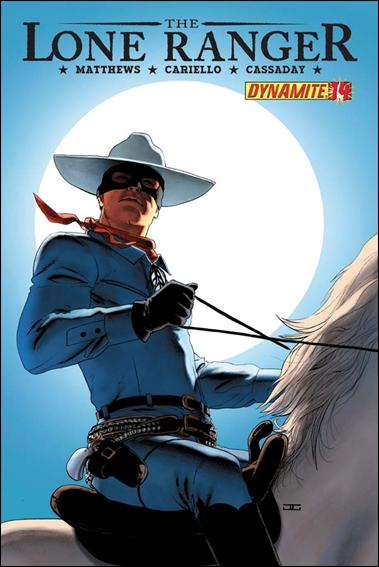 Lone Ranger (2006) 14-A by Dynamite Entertainment