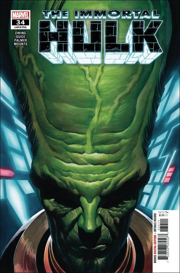 Immortal Hulk 34-A by Marvel