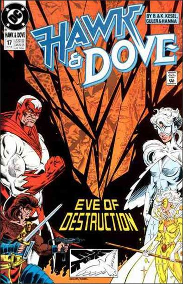Hawk and Dove (1989) 17-A by DC