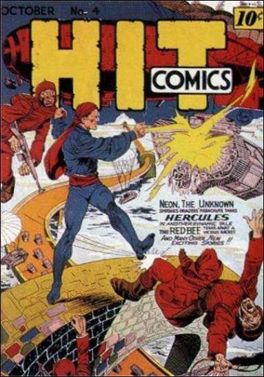 Hit Comics 4-A by Quality