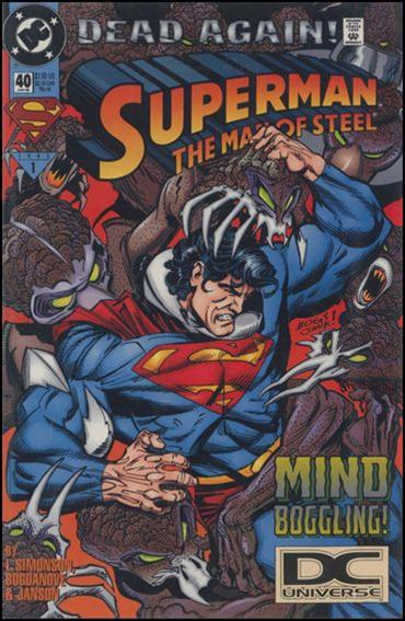 Superman: The Man of Steel 40-B by DC