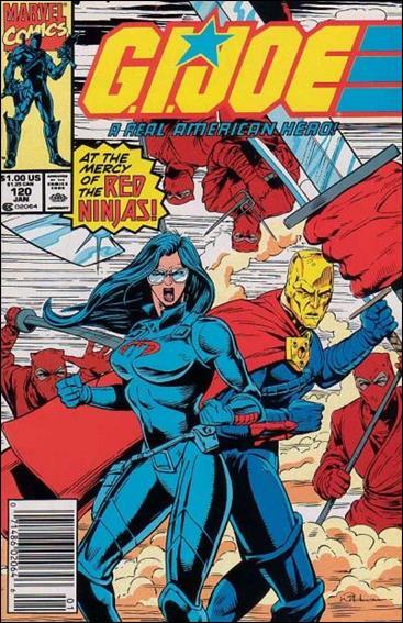 G.I. Joe: A Real American Hero 120-A by IDW