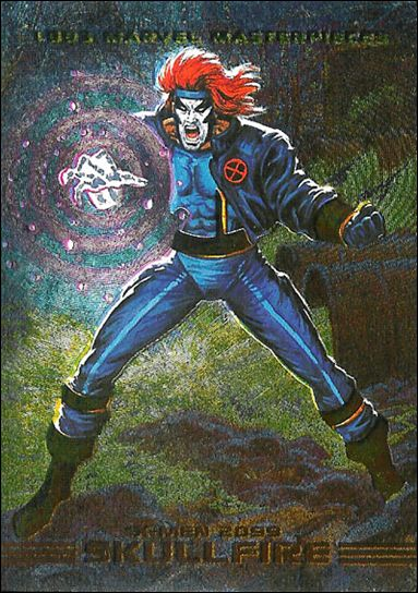 1993 Marvel Masterpieces (X-Men 2099 Dyna-Etch Subset) S7-A by SkyBox