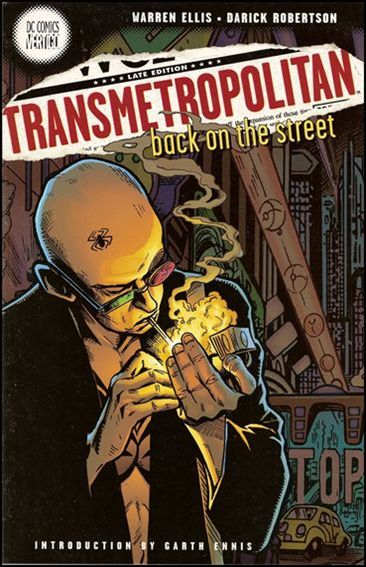 Transmetropolitan (1998) 1-B by Vertigo