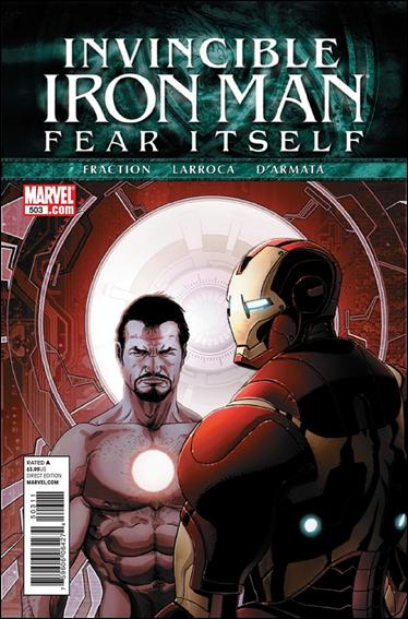 Invincible Iron Man (2008) 503-A by Marvel