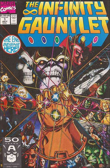 Infinity Gauntlet 1-A by Marvel