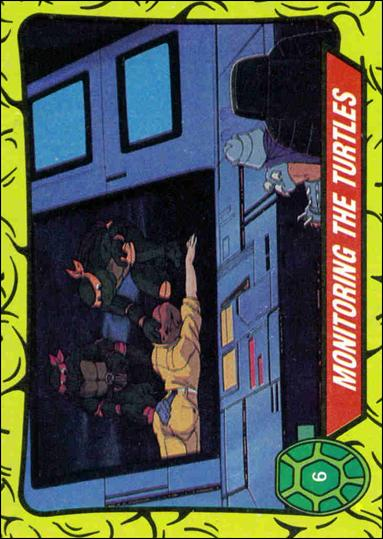 Teenage Mutant Ninja Turtles: Series 1 (Base Set) 6-A by Topps