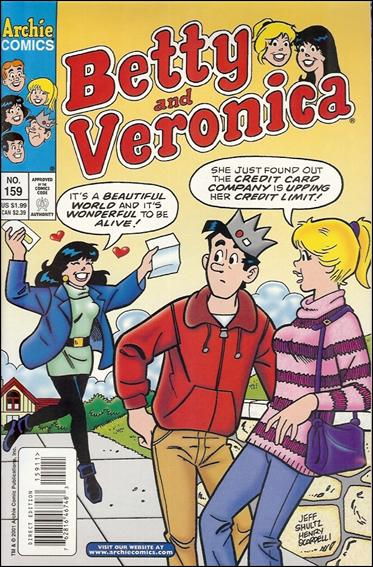 Betty and Veronica 159-A by Archie