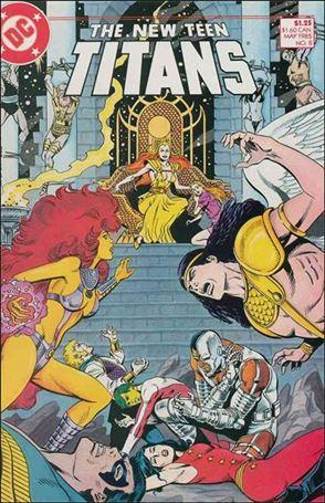 New Teen Titans (1984) 8-A