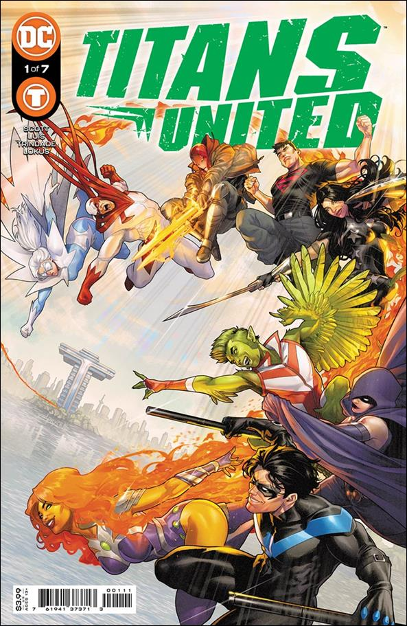Titans United 1-A by DC