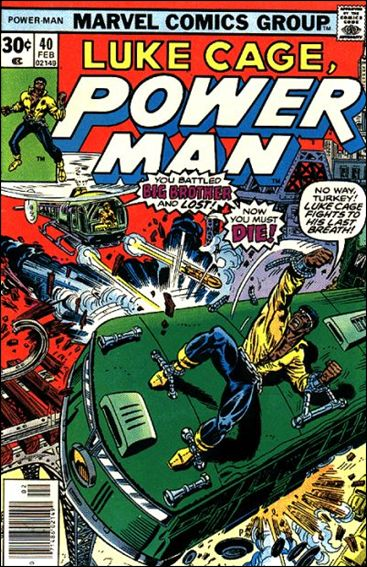 Power Man 40-A by Marvel