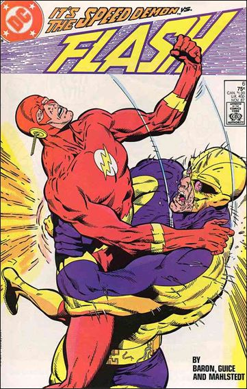 Flash (1987) 6-A by DC