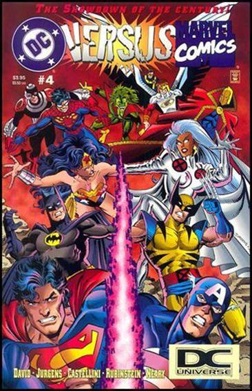 DC Versus Marvel/Marvel Versus DC 4-B by DC