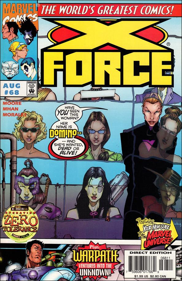 X-Force (1991) 68-A by Marvel