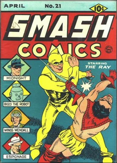 Smash Comics (1939) 21-A by Quality