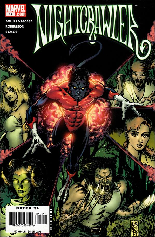 Nightcrawler (2004) 12-A by Marvel