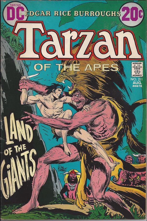Tarzan (1972) 211-A by DC