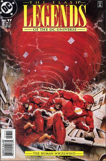 Legends of the DC Universe 17-A by DC
