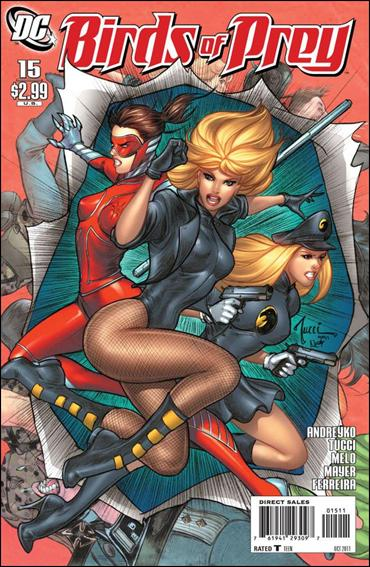 Birds of Prey (2010) 15-A by DC