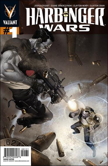 Harbinger Wars 1-C by Valiant Entertainment